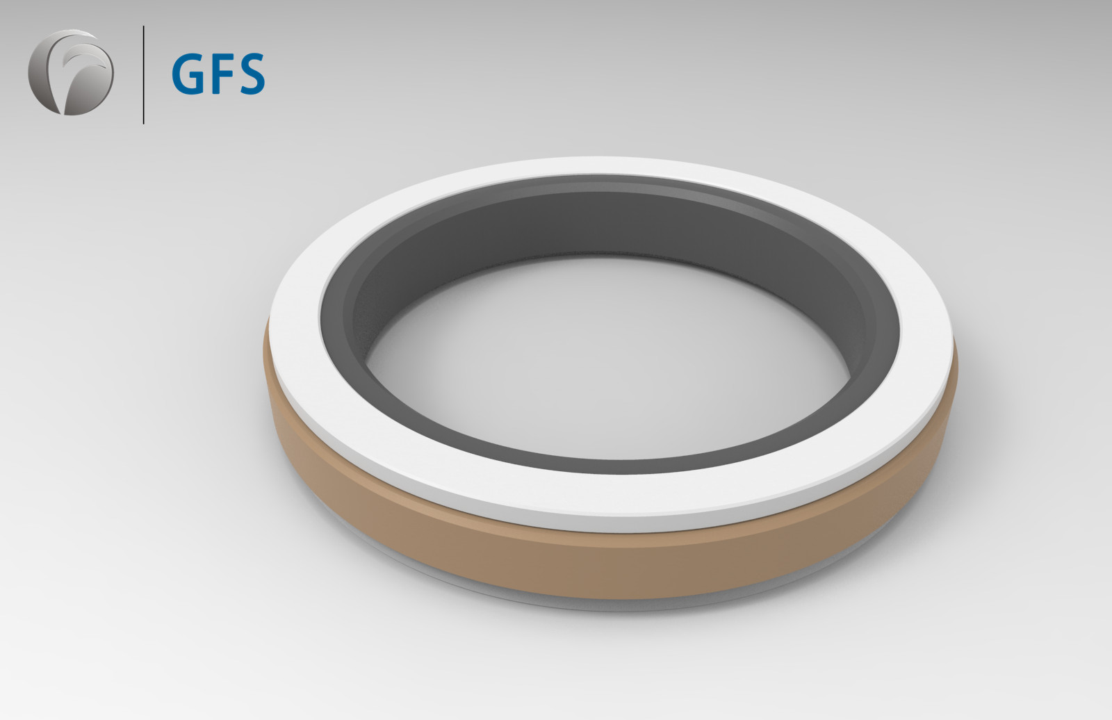 SPGW- Customized Piston Compact Seal for Excavator Parts, Construction Machinery